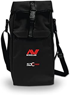 Minelab SDC 2300 Metal Detector Carry Bag Black for Storage and Transport