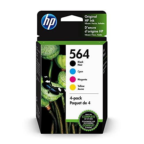 HP 564   4 Ink Cartridges   Black C…