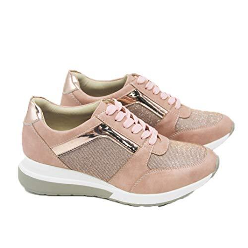 Lente Mesh Wedge Sneakers Voor Dames Platform Casual Ademende Sportschoenen Dikke Zolen Fashion Running Hiking Trainers