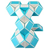 KidsPark Zauberwürfel Snake Cube, Magische Schlange Würfel 48 Parts Magic Puzzle Snake Spiele,...