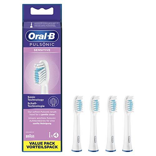 Oral-B Pulsonic - Juego de 4 cepillos de dientes sónicos (4 unidades)