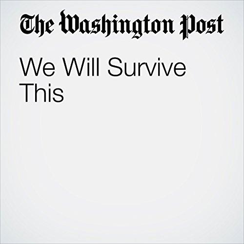 We Will Survive This copertina