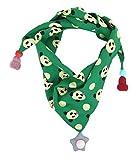 Ella Jonte Kinder Dreieckstuch grün Panda Kinderschal Mädchenschal Jungenschal