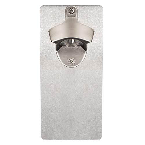 Bruntmor, CAPMAGS Strong Magnetic w/Zinc Alloy Beer Opener & Cap Catcher - Metal Magnetic (Metal)