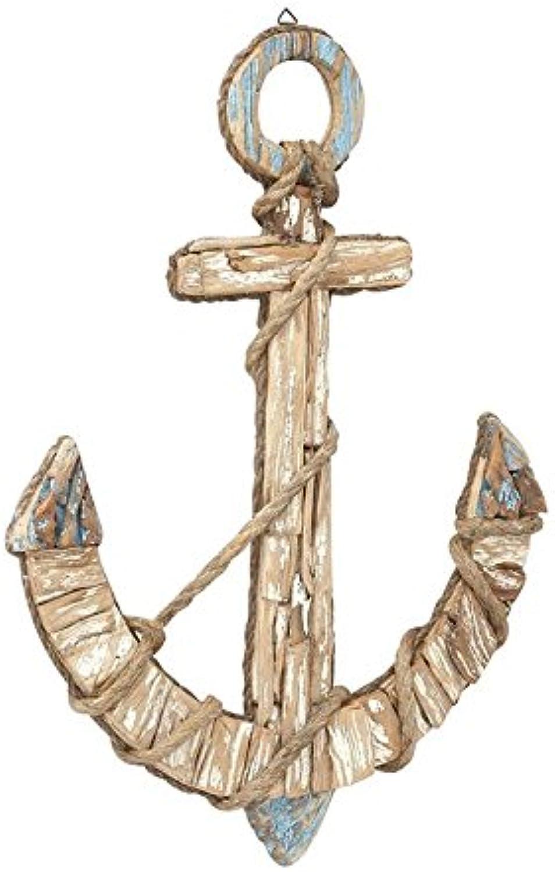 Benzara 87478 Rope Anchor Wall Décor