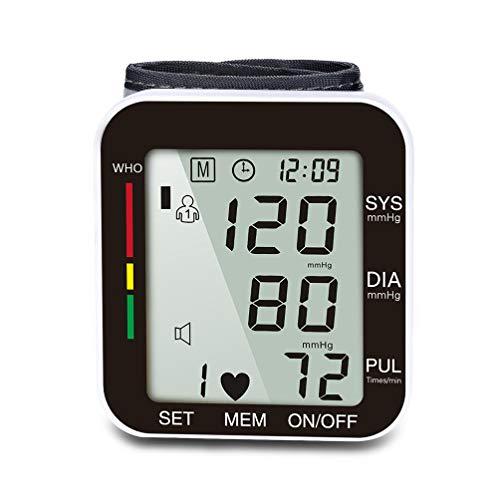 HZJ Blutdruckmessgerät, Blutdruckmessgeräte für den Hausgebrauch große Manschette IHB Arrhythmieerkennung/WHO Blutdruck Klassifizierung/intelligente Komprimierung/real Stimme,A