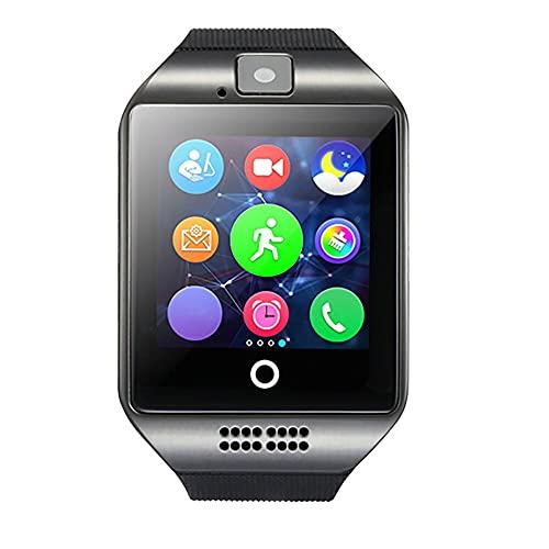 Reloj inteligente de la cámara del reloj de la pantalla táctil con la ranura de la tarjeta Sim podómetro Fitness Tracker reloj del teléfono de los niños