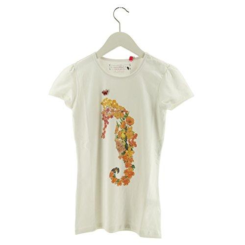 Cakewalk Girls Mädchen Shirt KOEMI weiß Seepferd Größe 104