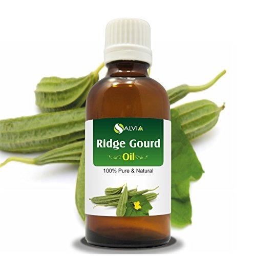 Ridge Gourd (Lufa Acutangula) Carrier Oil 100% Pure & Natural - Undiluted Uncut Cold Pressed Oil - Therapeutic Grade - 30 ML