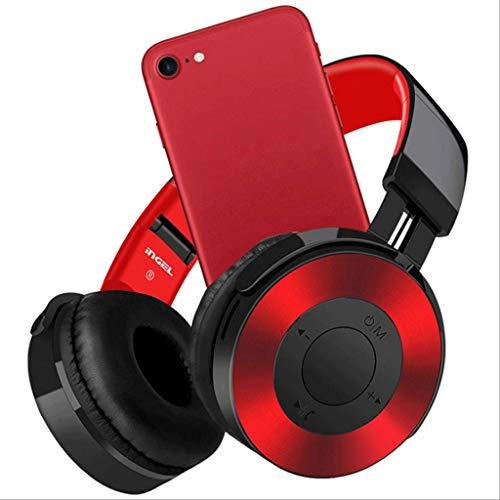 Mobeka Kop-aangebrachte Bluetooth hoofdtelefoon opvouwbare stereo/subwoofer met microfoon mobiele telefoon/pc-spel/muziek draadloze hoofdtelefoon
