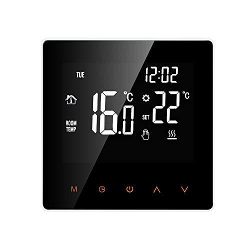 KKmoon Smart Thermostat Digitale Temperaturregler LCD Display Touch Screen Woche Programmierbare Elektrische Fußbodenheizung Thermostat für Home School Office Hotel 16A