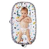 DaMohony Tumbona de bebé, portátil de viaje, cama recién nacido, desmontable para bebés de 0 a 2 años