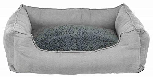 Trixie - Cama térmica (65 x 50 cm), color gris
