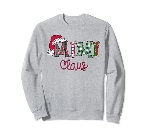 Santa Mimi Clause - Pijama de Navidad para familia Sudadera