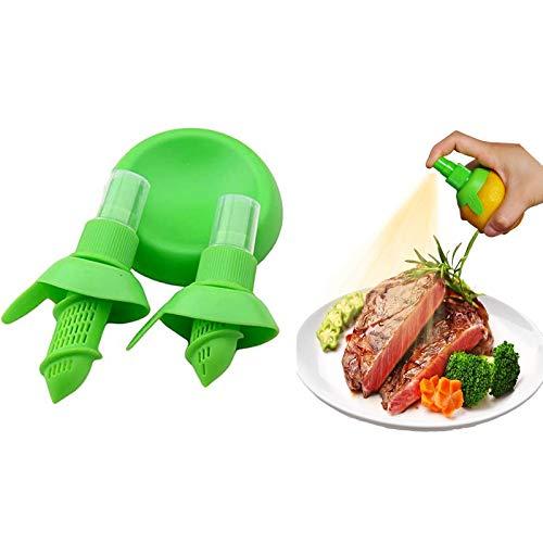 Lemon Juice SprayerManual Orange Juice Citrus SprayLemon Squeezer for Salads Seafood3Pcs Kitchen Gadget