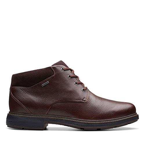 Clarks Un Tread UpGTX, Botas clásicas. para Hombre, Marrón (Dark Brown Lea Dark Brown Lea), 44 EU