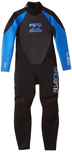 BILLABONG IntruderTraje de Neopreno para niño, Color Azul, tamaño FR : 10-12 ANS (Taille Fabricant : 10)