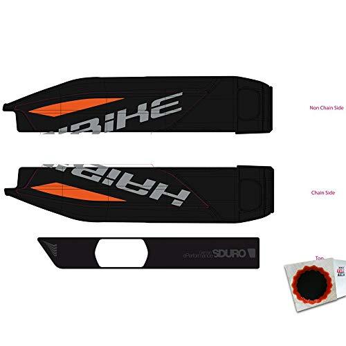HAIBIKE Dekor E-Bike Sduro f.Batteriegehäuse 2017 orange rot anthrazit grau