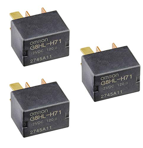 3 Pack 39794-SDA-A05 Power Relay Assembly for 2003-2014 Accord 2006-2014 Civic 2007-2014 Acura MDX CR-V