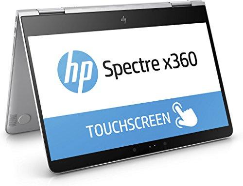 HP Spectre x360 (13-ac001ng) 33,8 cm (13,3 Zoll/Full HD) Convertible Ultrabook (2in1 Laptop mit Intel Core i7-7500U, 16 GB RAM, 512 GB SSD, Intel HD-Grafikkarte 620, Windows 10 Home 64) silber