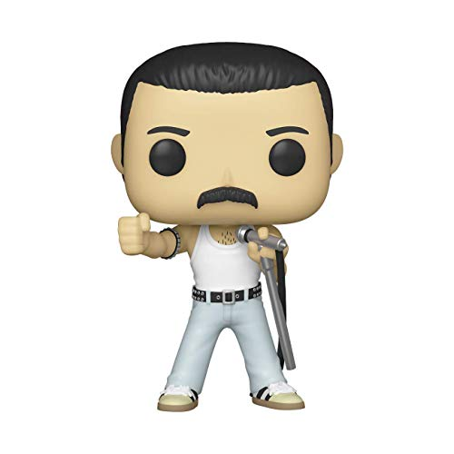 Funko- Pop Rocks: Queen-Freddie Mercury Radio Gaga Figura Coleccionable, Multicolor (33735)