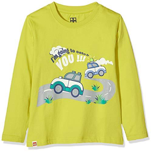 LEGO Cm Duplo T-Shirt À Manches Longues, Vert (Lime Green 810), 98 Bébé garçon