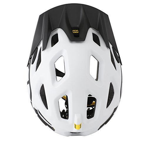 MAVIC Notch Trail Helmet White 2015 - White Black Helmet size: Small 51cm-56cm