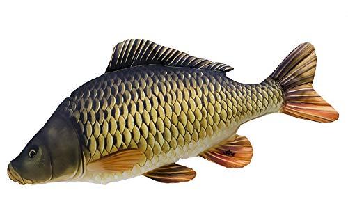 GABY Fish Pillows Gemeine Karpfen Mini Kissen, Mehrfarbig