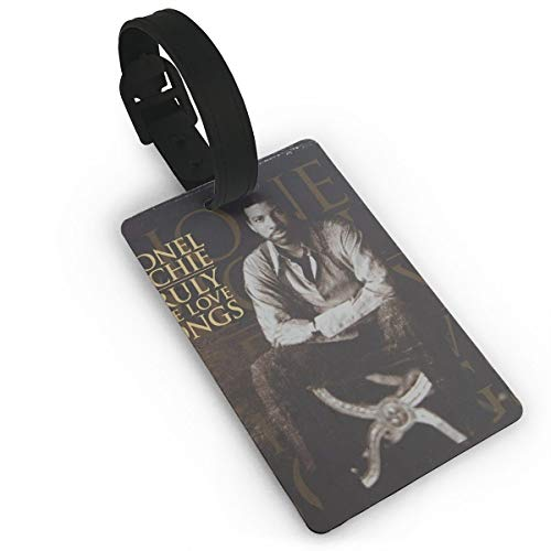 KOLODZIEJKIMM Lionel Richie Truly The Love Songs Luggage Tags Suitcase Tags Bag Tag Travel ID Labels Tag White One Size