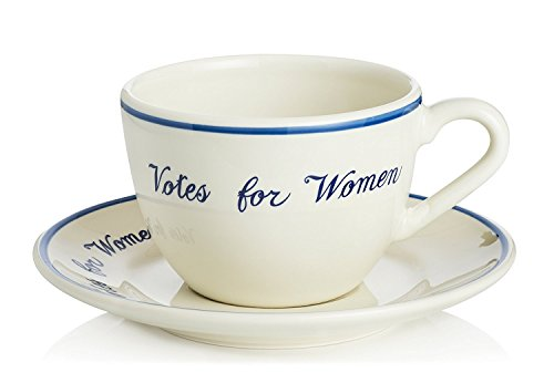 Votes for Women Cup & Saucer by The Preservation Society of Newport County