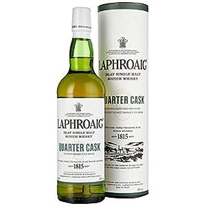 Laphroaig Quarter Cask Islay Single Malt Scotch Whisky, mit Geschenkverpackung, in Quarter Casks gereift, 48% Vol, 1 x 0…