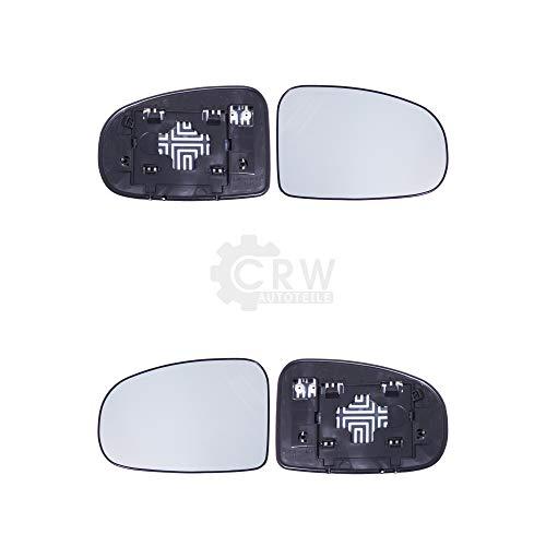 Juego de cristal de espejo retrovisor y soporte de pie para IQ (_J1_) a partir de 1.2009.