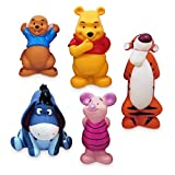 OfficialDisney Disney Winnie The Pooh Deluxe Bath Toys 5 Figure Figures Set Tub Toy Playset