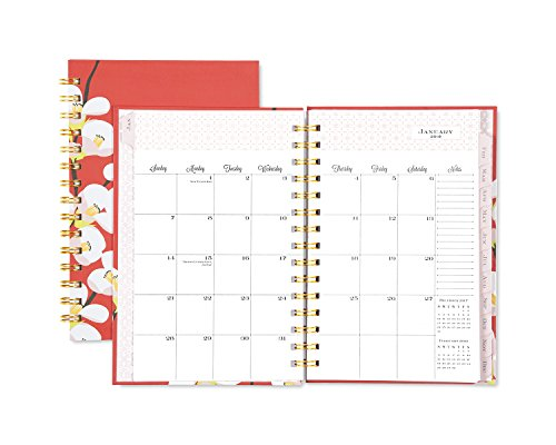 "Snow & Graham for Blue Sky 2018 Weekly & Monthly Planner, Hardcover, Twin-Wire Binding, 5"" x 8"", Quince Photo #6"