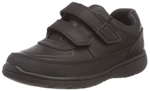 Clarks Jungen Venture Walk Derbys, Schwarz (Black Leather), 29 EU