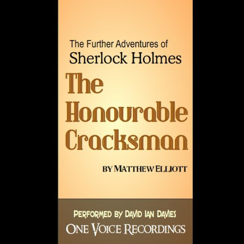 The Honourable Cracksman audiobook cover art