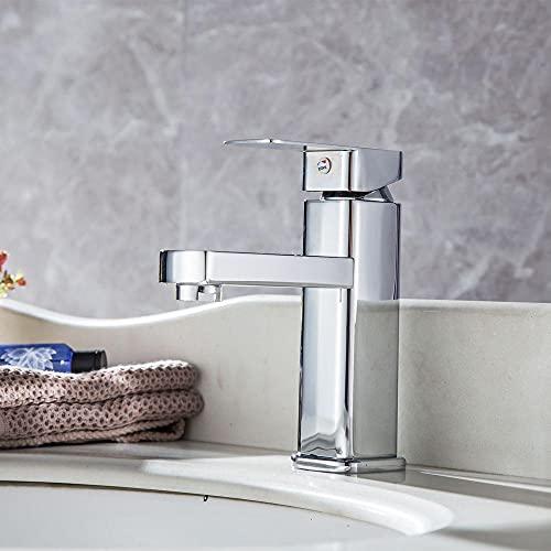 Zinklegering handfat kran installation handfat bänkskiva rostfri, korrosionsbeständig och luktfri badrumskran varm och kall filter kran utomhuskran
