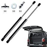 CARINLIFE 12 inch Gas Spring Lift Supports 50b/230N Per Gas Lift Cylinder 2 Pack Camper Windows Replacement Leer Truck Cap Parts Camper Shells Leer Truck Cap Lock Replacement