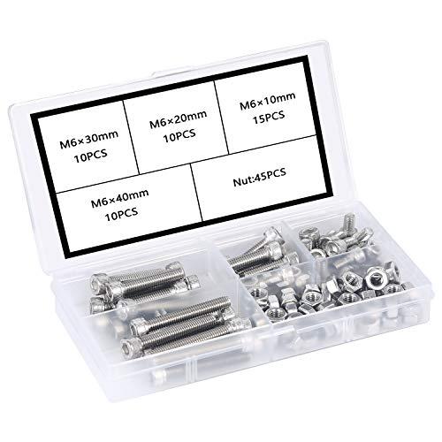 304Sechskantschraube Edelstahl Mutter Kombination Nägel Schrauben Befestigungen DIN 933 SUS304