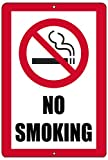 Rogue River Tactical No Smoking Metal Tin Sign Business Retail Store Home Large