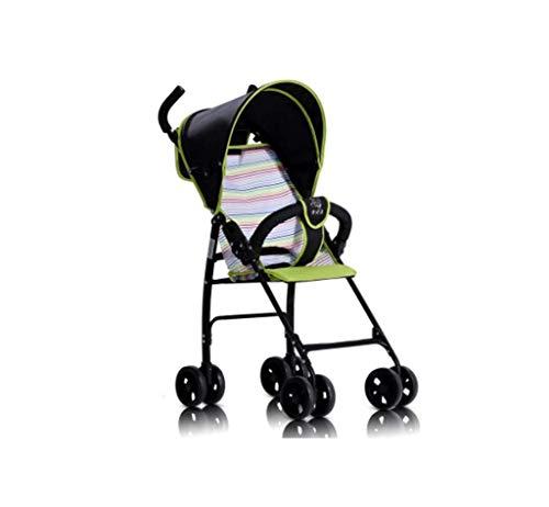 Kinderwagen, leichte Kinderwagen, leichte Klappkinderwagen, modische Sportwagen, zwei-Wege, vierrädrige BB Trolley für sitzende Liegebuggys, geeignet für 0 bis 3 Jahre alt