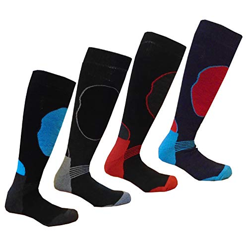 i-Smalls Herren Big Foot Long Hose Wärmeleistung Ski Mountain Trekking Walking Socken