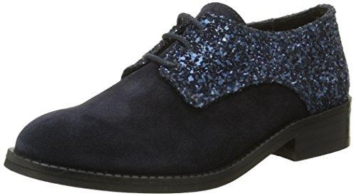 Yep by Jonak Georgine, Cheville Chaussures lacées Filles, Bleu, 30