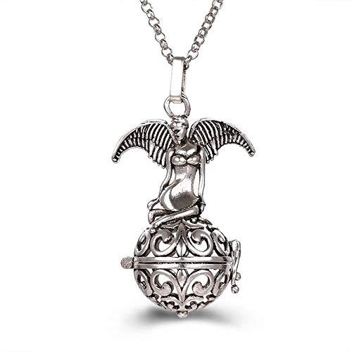 Preisvergleich Produktbild Ätherisches Öl Diffusor Halsketteengel Aromatherapie Ätherisches Öl Diffusor Halskette