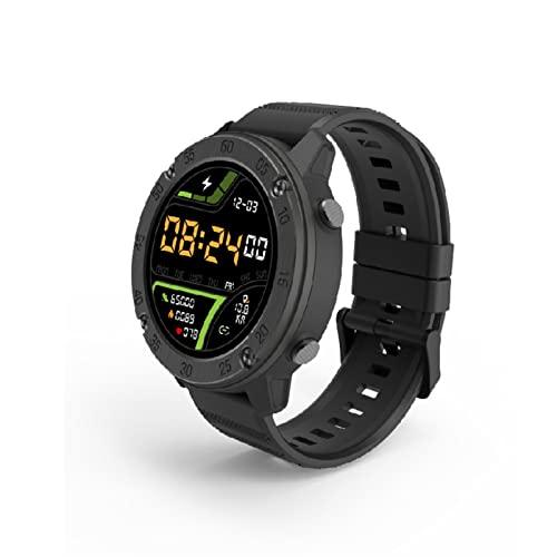 Smartwatch De Pantalla Táctil De 1.3 Pulgadas Con Monitor De Frecuencia Cardíaca,5 Cajero Automático Rastreador De Fitness Impermeable Compatible Con IOS Y Perómetro De Teléfono Android Reloj Intelige