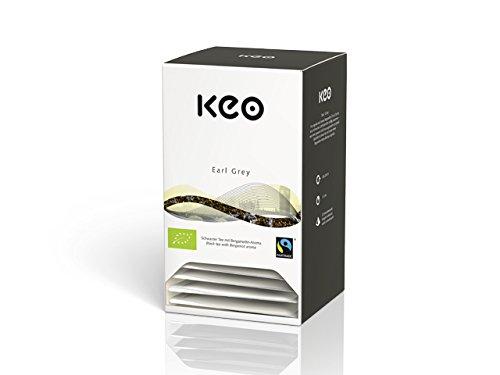 Keo Tee - EARL GREY - Bio & Fairtrade 20 Pyramidenbeutel DE-ÖKO-006