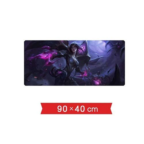 Xfwj LOL Karakters van het Spel Mouse Pad Desk Mouse Pad Waterdicht LOL Anime Lovers Collection Computer muis en het toetsenbord Accessoires Desk Pad PC LOL Game Desk