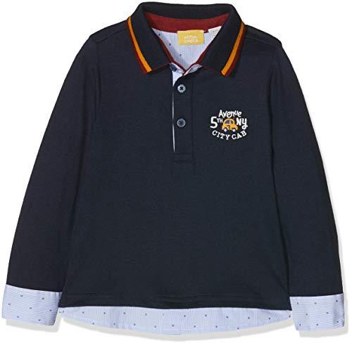 Chicco Chicco Baby-Jungen 09033458000000-088 Poloshirt, Blau (BLU Scuro 088), 74 cm