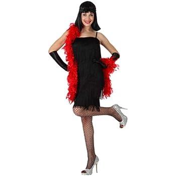 Atosa-15596 Disfraz Cabaret, color negro, XS-S (15596): Amazon.es ...
