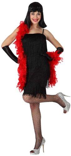 Atosa-15596 Disfraz Cabaret, color negro, XS-S (15596)
